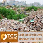 Hình thưc xử lý đối với hành vi đổ trộm phế thải xây dựng