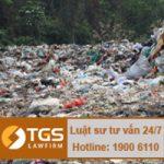 Khoảng cách thích hợp khi lựa chọn bãi chôn lấp, xử lý rác thải