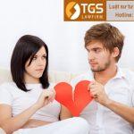 Tư vấn và hướng dẫn thủ tục ly hôn cho quý khách hàng tại công ty luật TGS LAW