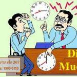 Luật sư tư vấn về hình thức kỷ luật lao động