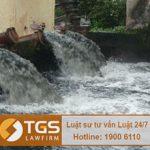 Những trường hợp được miễn phí bảo vệ môi trường đối với nước thải
