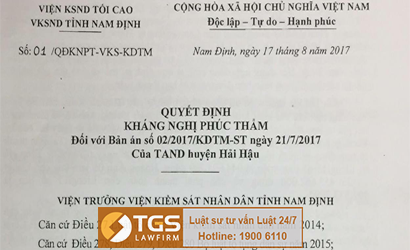quyet-dinh-khang-nghi-cua-vien-truong-vksnd-nam-dinh-xam-pham-hoat-dong-tu-phap