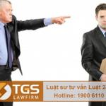 Quy định mới về tội buộc công chức, viên chức thôi việc hoặc sa thải người lao động trái pháp luật