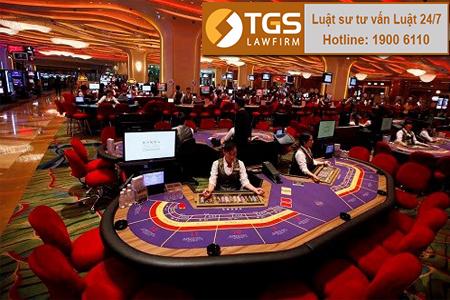 Điều kiện về điểm kinh doanh Casino