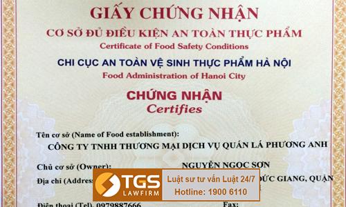 danh-gia-viec-xin-cap-giay-chung-nhan-co-du-dieu-kien-toan-thuc-pham-cho-nha-hang-quan-la-phuong-anh