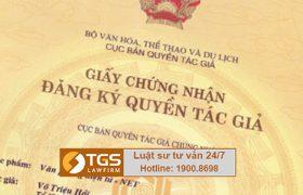 Dịch vụ đăng ký bản quyền tác giả tại Hãng Luật TGS