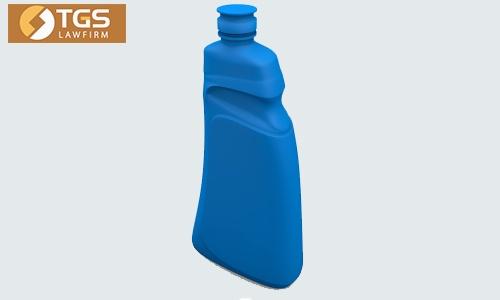 Mặt nghiêng kiểu dáng chai nhựa 24910