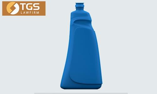 mặt trước kiểu dáng chai nhựa 24910