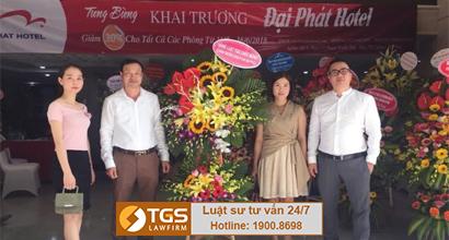 Hãng Luật TGS hợp tác với khách sạn Đại Phát trong vấn đề pháp lý