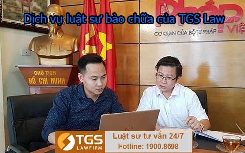 Dịch vụ luật sư bào chữa của TGS Law