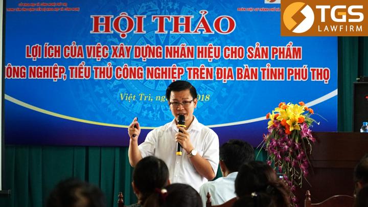 Hội thảo xây dựng nhãn hiệu tại Phú Thọ