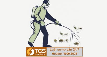 giấy phép phun diệt côn trùng