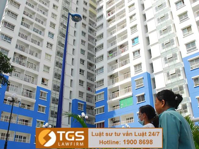 Quy định về quản lý tài sản riêng trong chung cư