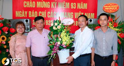 Hãng Luật TGS chúc mừng Thời báo Làng Nghề Việt trong Lễ kỷ niệm 93 năm Ngày Báo chí Cách mạng