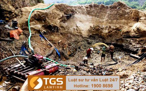 Xử phạt vi phạm hành chính khi khai thác khoáng sản