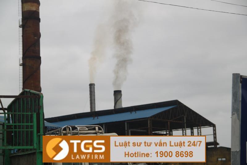 Xử phạt vi phạm hành chính về khí thải