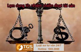 Tội lạm dụng tín nhiệm chiếm đoạt tài sản theo quy định của pháp luật