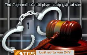 Cảnh báo thủ đoạn mới của tội phạm cướp giật tài sản