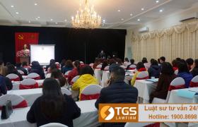 [Tiếp] Công ty Luật TGS Law tham gia Lớp bồi dưỡng kiến thức về pháp luật hợp đồng – Bộ tư pháp