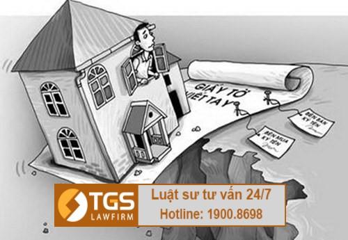 Giấy tờ mua bán đất viết tay có hợp lệ không