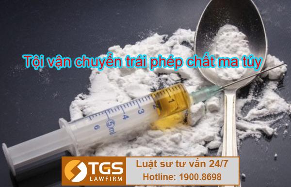 Điều 250 Bộ luật hình sự 2015 Tội vận chuyển trái phép chất ma túy