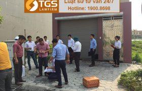 Luật sư TGS LAW tham gia thẩm định hiện trạng thu hồi đất tại tỉnh Hà Nam