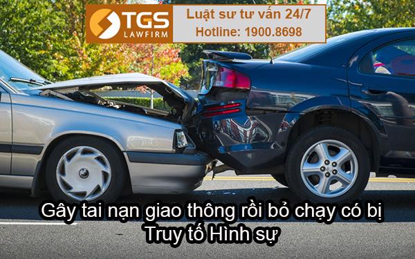 Gây tai nạn giao thông rồi bỏ chạy có bị Truy tố Hình sự