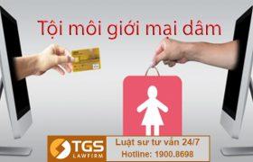 Tội môi giới mại dâm tại Điều 328 Bộ luật Hình sự 2015