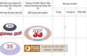 Hãng Luật TGS đại diện xử lý xâm phạm nhãn hiệu Kem 35