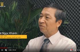 """Luật sư Khánh trả lời phỏng vấn Lawyer TV về vấn đề """"ô nhiễm không khí dưới góc nhìn trách nhiệm"""""""