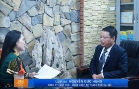 Luật sư trả lời phỏng vấn về vụ Tiến sỹ Bùi Quang Tín rơi từ tầng 14!